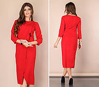 Сукня міді арт. 131 червоне, фото 1