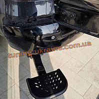 Подножка боковая задняя для Toyota Hilux 2015-2019 Задняя подножка для кузова пикапа на Тойота Хайлюкс 2015+