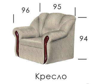 Кресло Мустанг, фото 2
