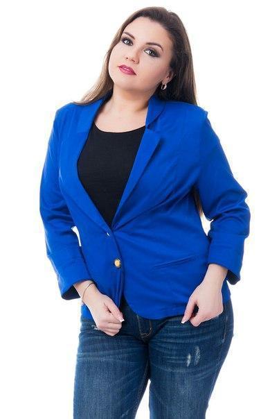 Жакет Эрика (02) ярко-синий