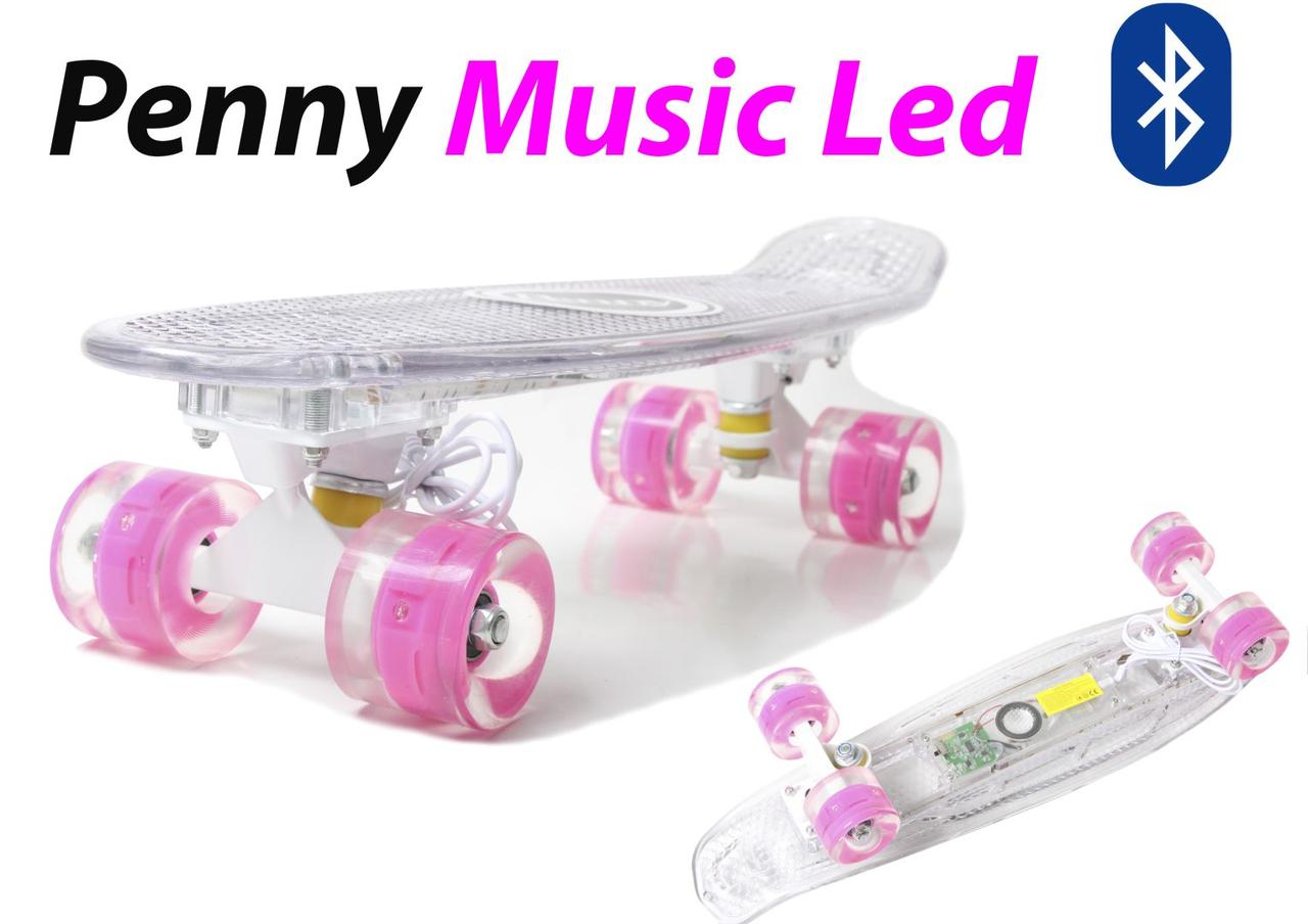 "Penny Board ""Light Music Led"""