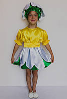 Карнавальный костюм Ромашка платье, фото 1