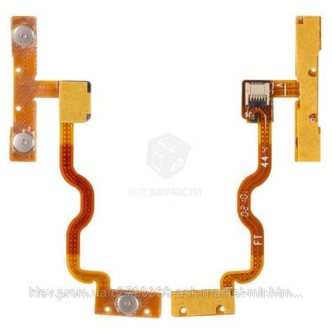 Шлейф для Apple iPod Touch 2G, iPod Touch 3G Original Кнопки регулировки громкости, кнопка включения, фото 2