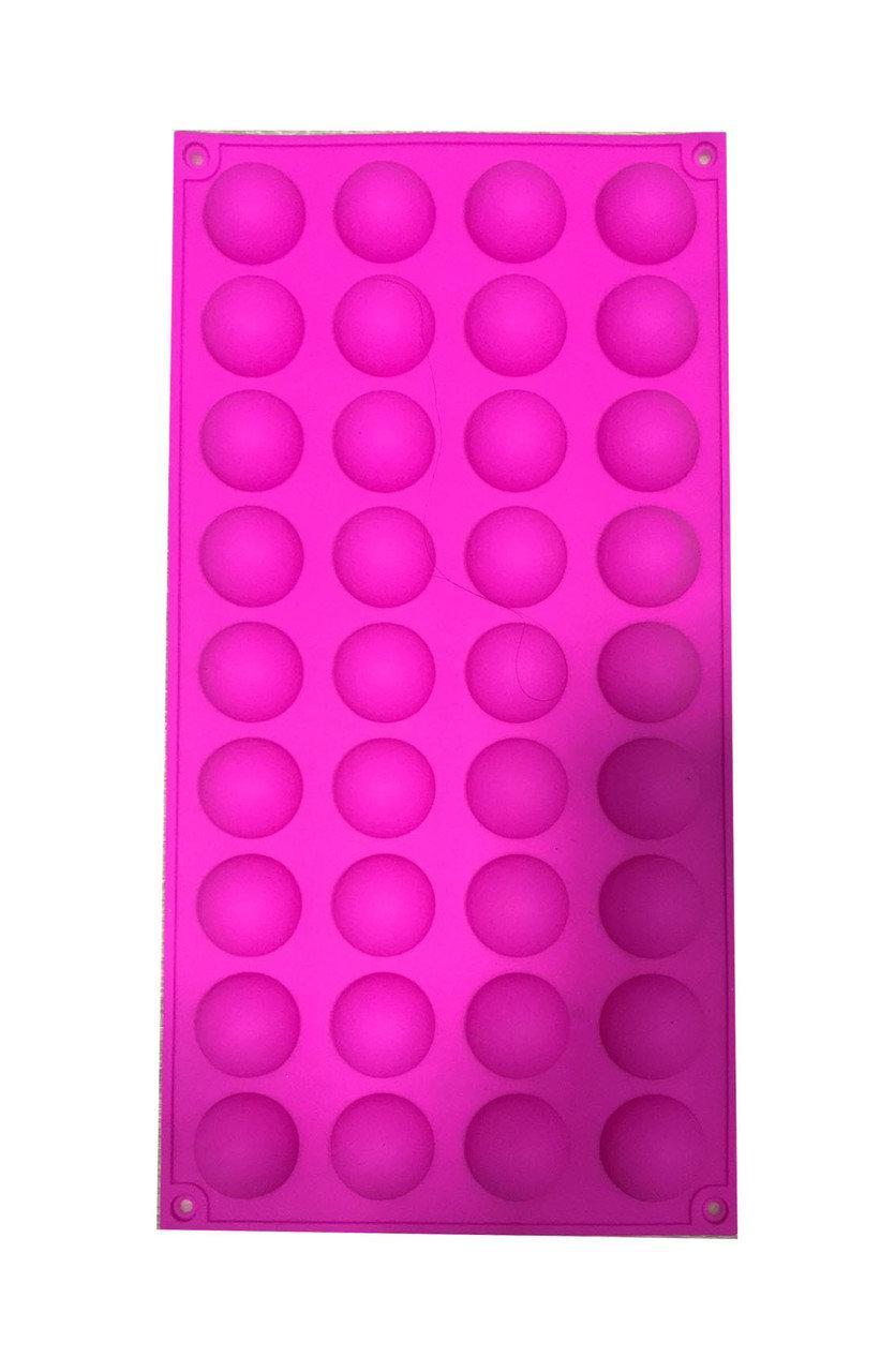 Форма для шоколадных сфер Полусфера 36 шт