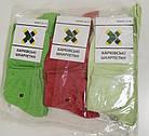 Женские носки Харкiвськi Шкарпетки Классика (Красно-зеленый), фото 2