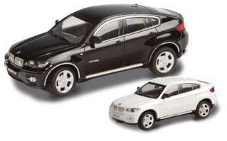"""Машинка """"BMW X6"""" радиоуправляемая White"""