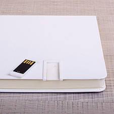 Тетрадь с usb-флешкой 4 Гб White, фото 2