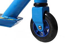 Трюковый самокат Scale Sports Extrem Abec-11 синий оптом, фото 3