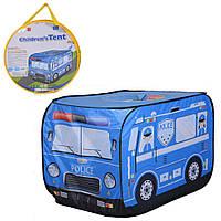 """Детская палатка """"Полицейский автобус"""" (110 см)"""