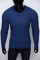 Свитер мужской плотный Bnx 152459008-5 синий
