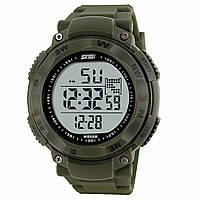 Кварцевые спортивные часы Skmei (green) - гарантия 6 месяцев