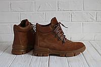 Женские ботинки из натуральной замши и кожи Возможен отшив в других цветах