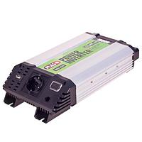 Преобразователь напряжения Pulso 12V-220V/800W/USB-5VDC 2A/клеммы IMU-820