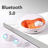Розпакування навушники бездротові Wi-pods K10 білі