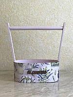 Ящик для цветов и декора, Лаванда