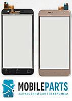 Сенсор (Тачскрин) для Prestigio MultiPhone 3512 Muze B3   MultiPhone PSP 7511 Muze B7 (Золотой) Оригинал Китай