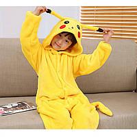 "Детская пижама Кигуруми ""Пикачу"" рост 120"