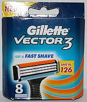 Gillette Blue3 (Sensor Excell) упаковка 8 штук оригинал