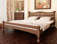 Кровать деревянная Mebigrand Даллас 140*190 Орех темный