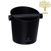 Нок-бокс VD Coffee (Алюминий/Резина) Черный