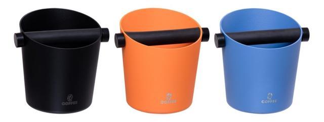 Нок-бокс для кофейного жмыхаАлюминий/Резина (черный , синий, оранжевый)