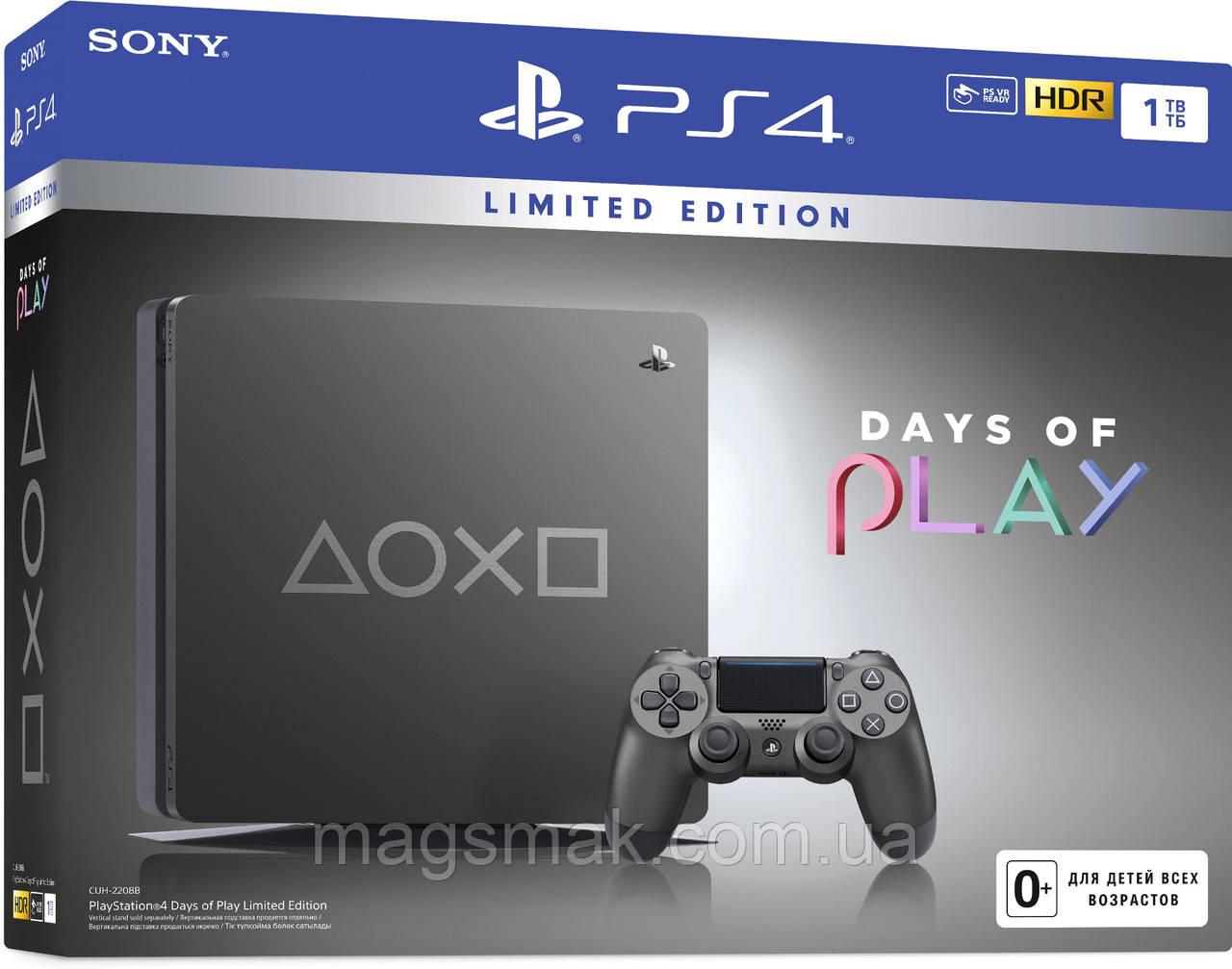 Консоль PS4 Slim 1Tb Days Of Play SE (CUH-2208B)