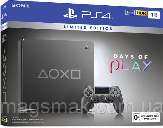 Консоль PS4 Slim 1Tb Days Of Play SE (CUH-2208B), фото 2