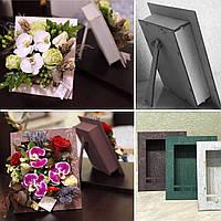 Ящик для цветов и декора, Фоторамка кракелюр