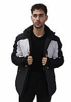 Куртка лыжная мужская Just Play Modra черный / белый (B1340-white) - L