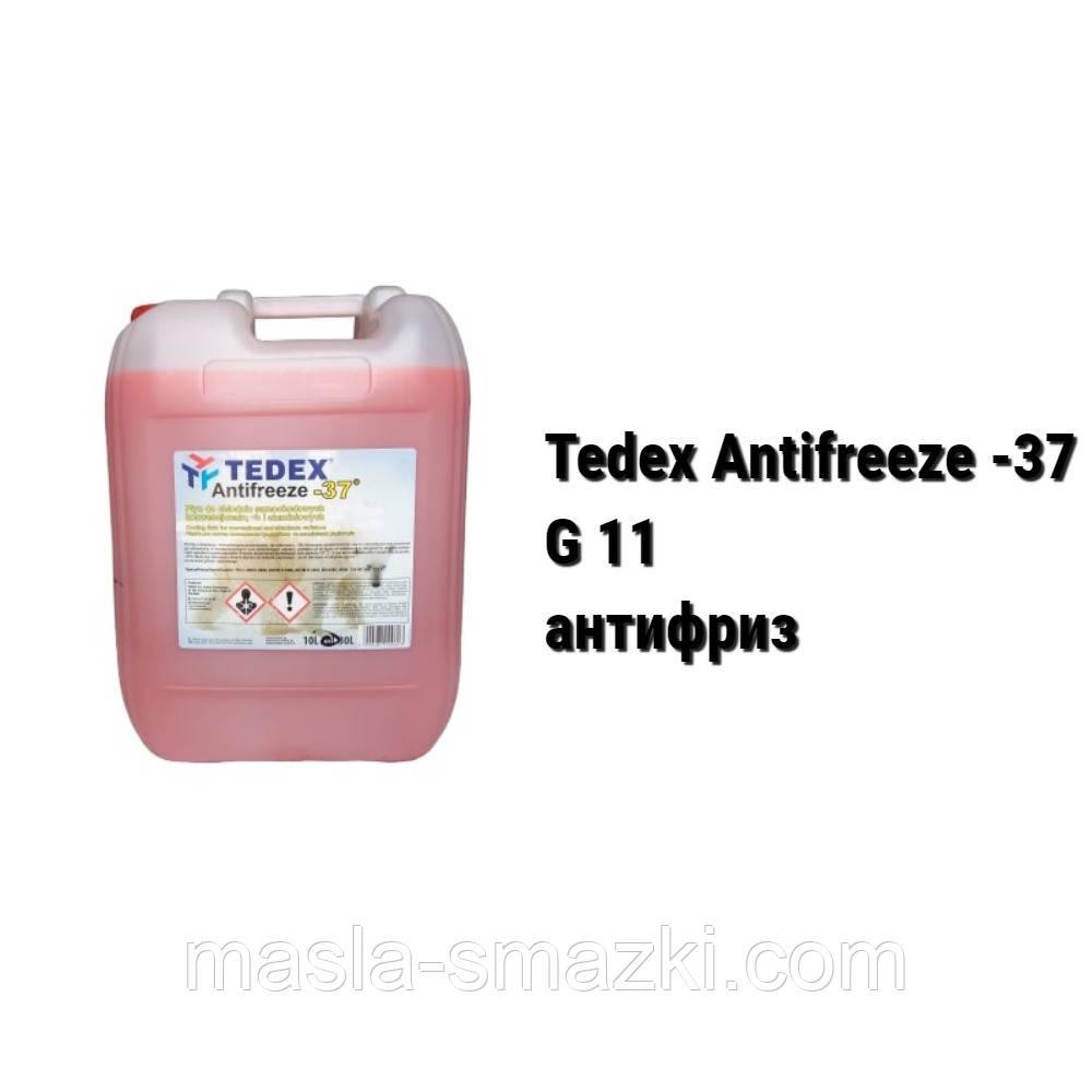 Антифриз G11 Tedex Antifreeze -37 /цвет красный/ - 5 л 20 л