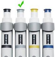 Дозатор пипеточный переменного объёма (0,5-10 мкл) Eppendorf Research® plus, фото 2
