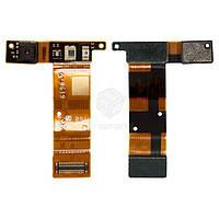 Шлейф для Sony Xperia SP (C5302 M35h, C5303 M35i, C5306) Оригинал Фронтальная камера, датчик приближения, датчик освещения