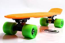 Penny Board. Оранжевый цвет. Гравировка., фото 2