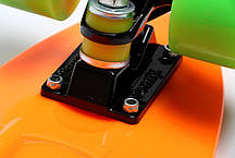 Penny Board. Оранжевый цвет. Гравировка., фото 3