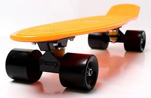 Penny Board. Оранжевый цвет 2 . Гравировка, фото 2