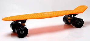 Penny Board. Оранжевый цвет 2 . Гравировка, фото 3