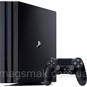 Консоль PS4 Pro 1TB black (CUH-7208B) + FIFA20, фото 2