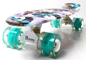 "Penny Board ""Alladin"". Светящиеся колеса., фото 2"