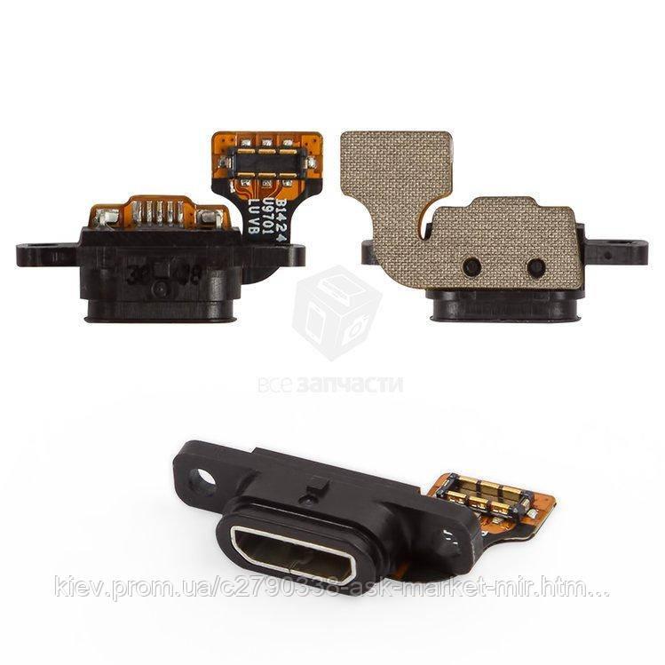 Шлейф для Huawei Honor 3 HN3-U00 Original Разъем зарядки, микрофон