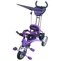 Велосипед трехколесный Mars Trike на надувных колесах (Филетовый) (KR01 air фіолетовий)