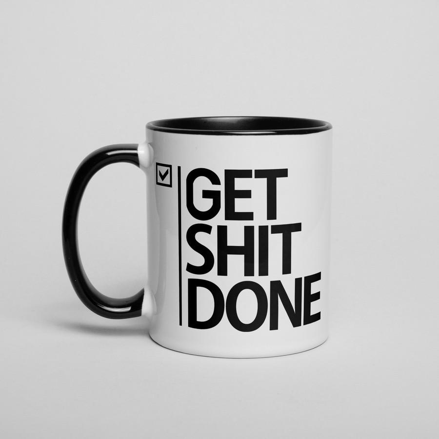 "Кружка ""Get Shit Done"""