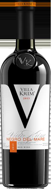 Вино красное полусухое Villa Krim Negro Del Mare 0.75л