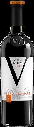 Вино красное полусухое Villa Krim Negro Del Mare 0.75л, фото 2