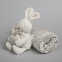 """Пледик с игрушкой """"Зайка"""" (подарочная коробка), фото 3"""
