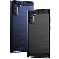 Защитный чехол iPaky Slim с карбоновыми вставками для Samsung Galaxy Note 10 (выбор цвета)