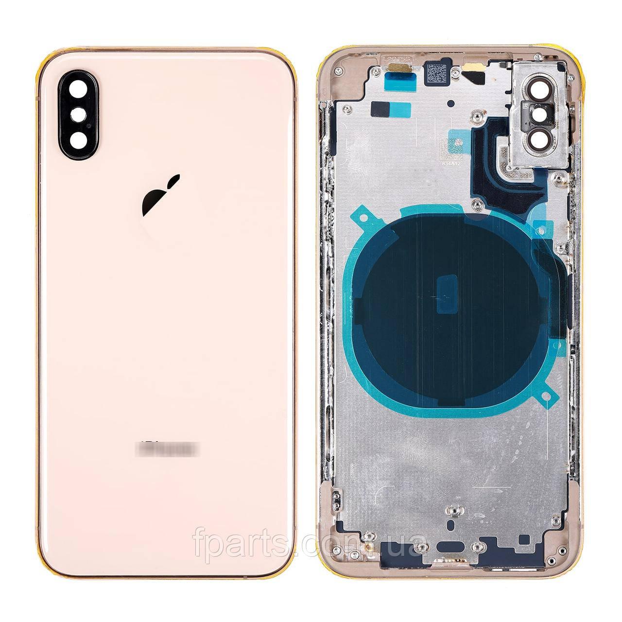 Корпус iPhone XS, Gold (AAA)