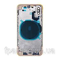 Корпус iPhone XS, Gold (AAA), фото 3