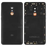 Задняя панель корпуса (крышка аккумулятора) для Xiaomi Redmi Note 4, Redmi Note 4X Оригинал Черный Кнопки регулировки громкости, кнопка включения