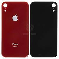 Задняя панель корпуса (крышка аккумулятора) для Apple iPhone XR Оригинал Красный