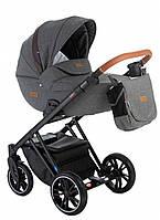 Детская коляска Broco Up 2 в 1 02 темно-серый цвет